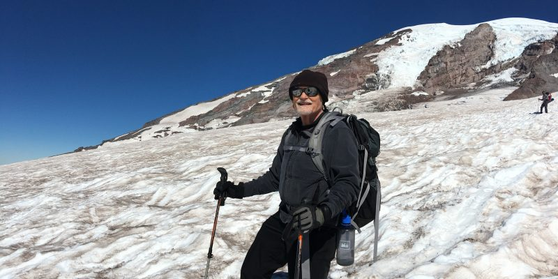Bill Montgomery on Mt. Rainier