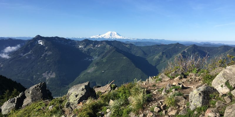 From Top of Mailbox Peak